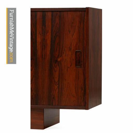 danish rosewood credenza,media cabinet,tv stand,scandinavian