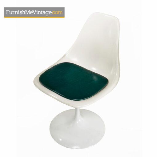 burke, tulip table, shell chairs,Vintage, Saarinen, Knoll ,Dining Set