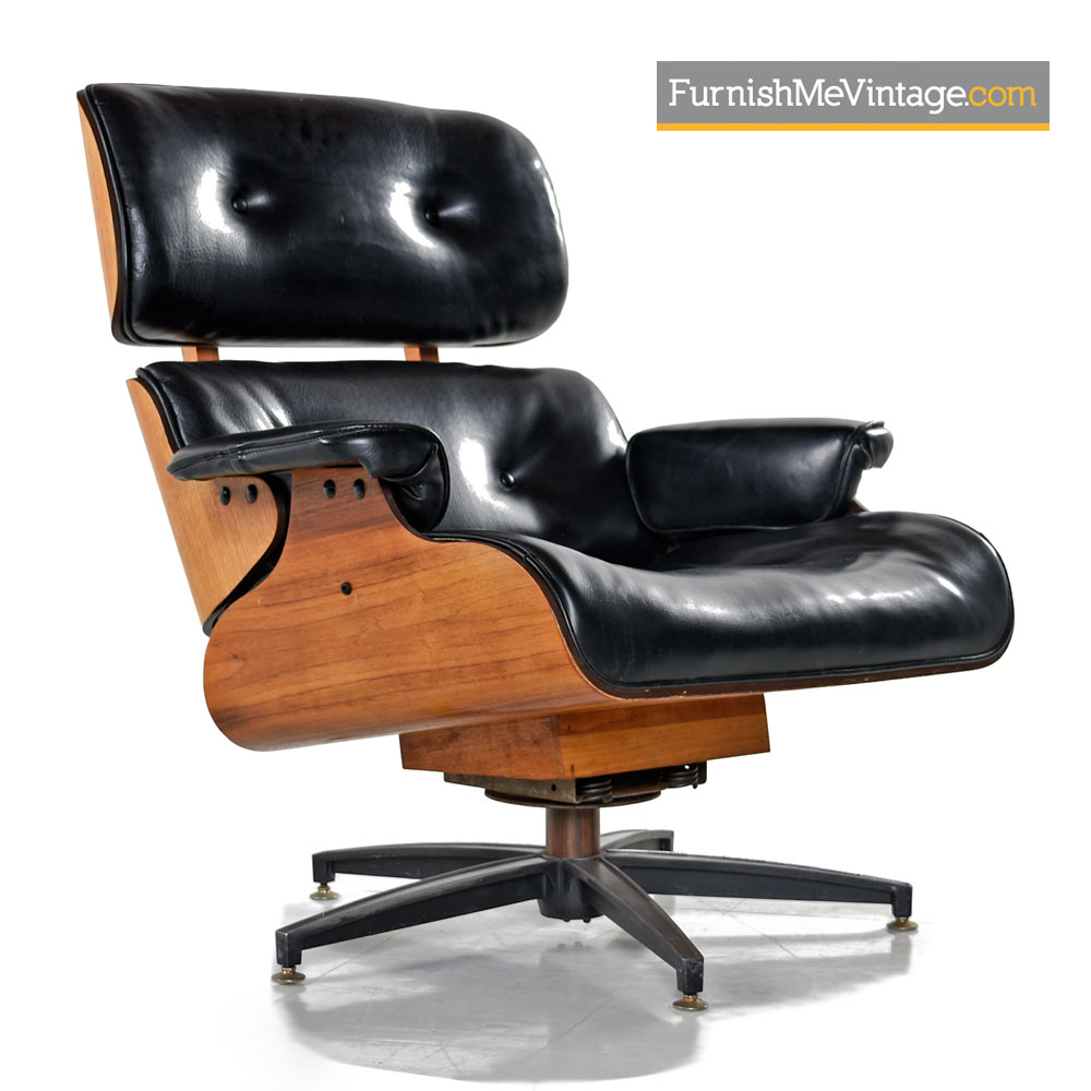 Eames Style Lounge Chair Mid Century Modern Made In Canada