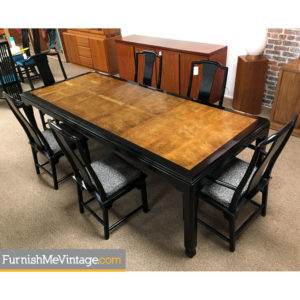 Chin Hua Asian Dining Table by Century