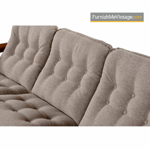 Solid Teak Sofa by Domino Mobler - Scandinavian Modern