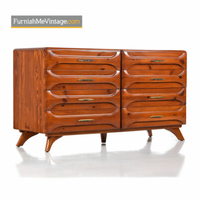 Franklin Shockey Sculptured Pine Dresser - Solid Wood
