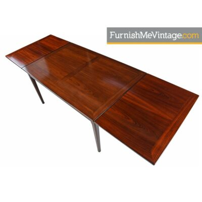 Rosewood Dining Table by Skovby of Denmark - Draw Leaf Style