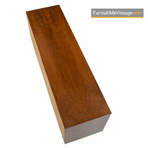 Triple Dresser Credenza by Kroehler - Danish Modern Walnut