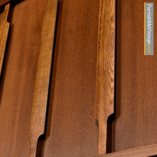Kroehler Dresser - Danish Modern Walnut Gentlemans Chest