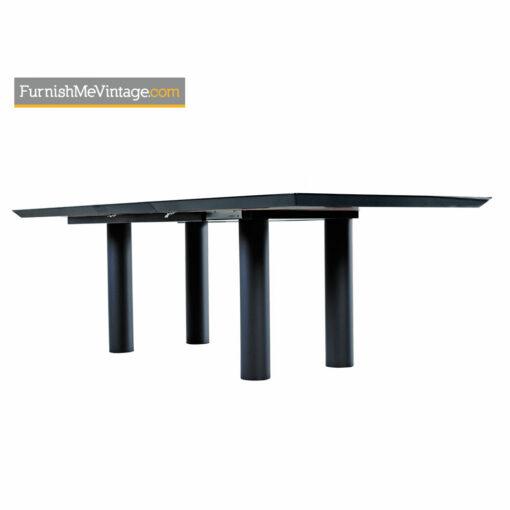 Oscar DellArredamento Burl Maple Rosewood Italian Modern Dining Table