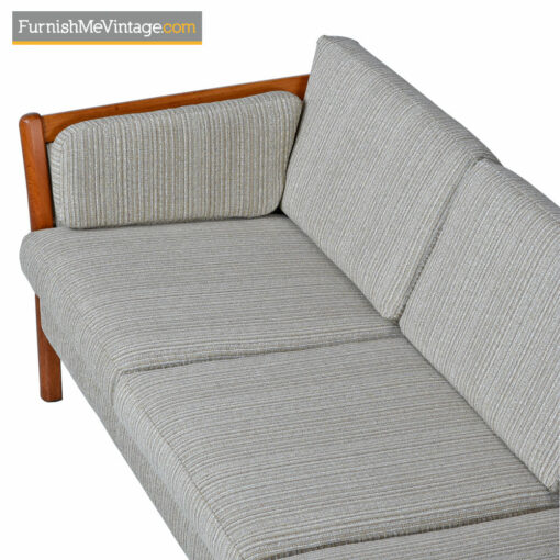 Stouby Sofa 3-Seater Couch - Danish Modern Teak