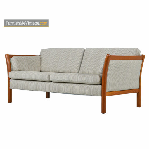 Stouby Settee Sofa Fully Restored - Danish Modern Teak
