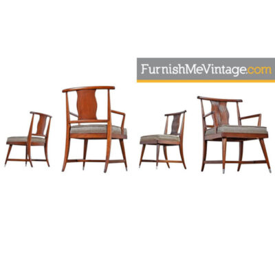 vintage asian modern chairs
