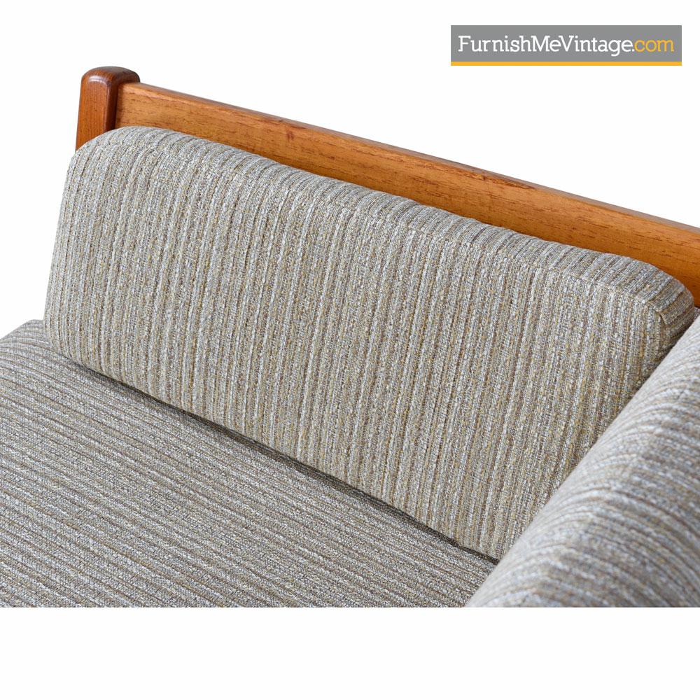 Danish Modern Sofas: Stouby Settee Sofa Fully Restored