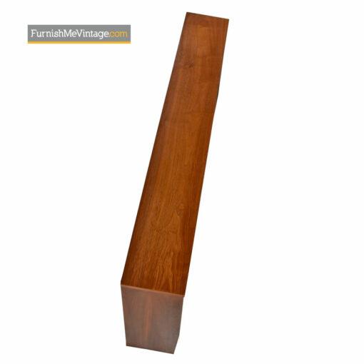 Freestanding Headboard Bed by Kroehler - Mid Century Modern Walnut