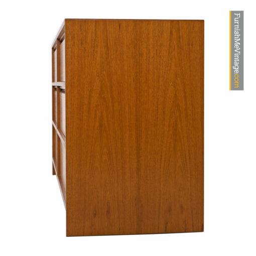 Danish Teak Double Dresser - Scandinavian Modern