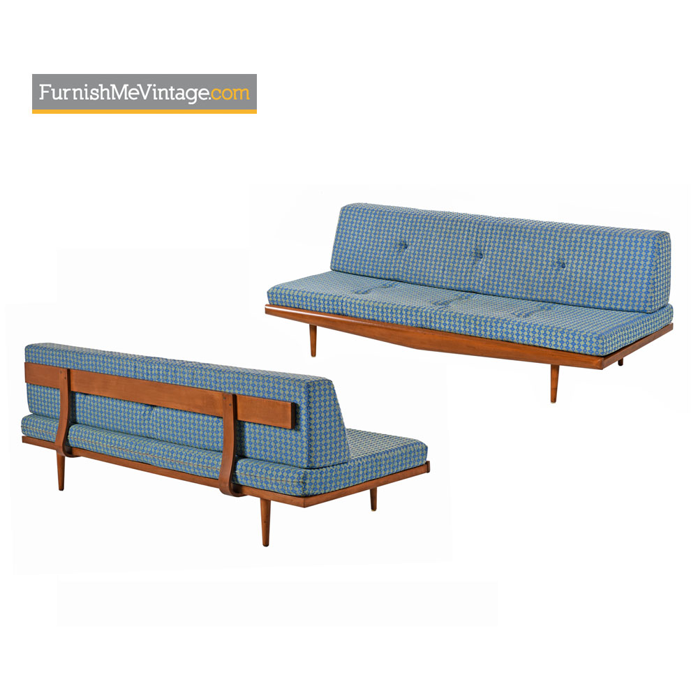 Mid-Century Modern Daybed Sofa Couch - (2) Available
