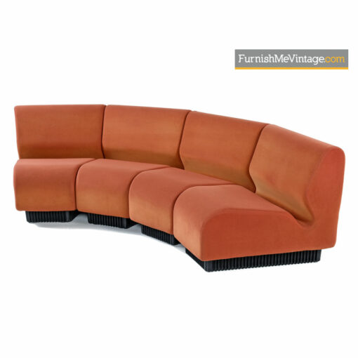 Don Chadwick Modular Curved Sectional Sofa Couch for Herman Miller