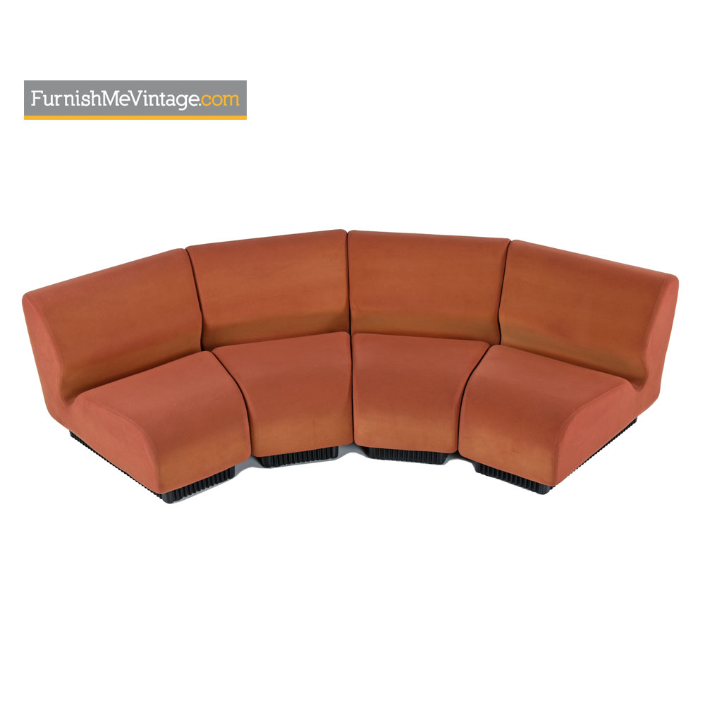 don chadwick modular curved sectional sofa couch for. Black Bedroom Furniture Sets. Home Design Ideas