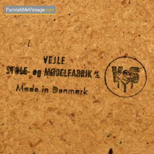 Vejle Stole Dining Table - Danish Modern Teak Draw Leaf Style