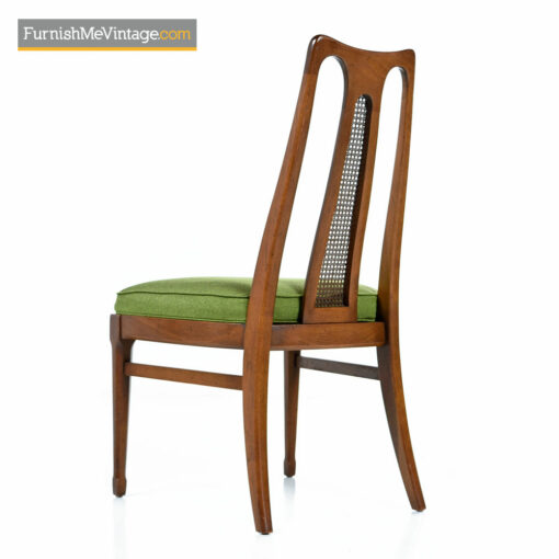 Cosmopolitan Cane Back Dining Chairs by White Furniture - Mid-Century Modern