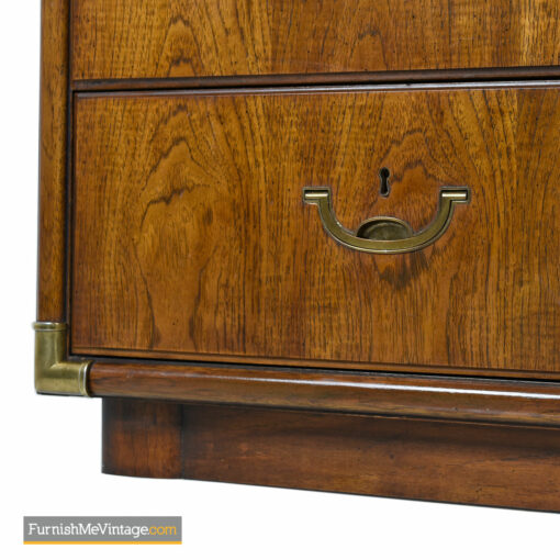 Campaign Style Dresser by Drexel Heritage Accolade II