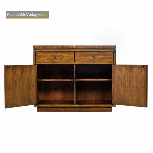 Campaign Style Server Bar Cart by Drexel Heritage Accolade