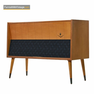 Grundig Majestic M11 Console Stereo Turntable Cabinet Credenza