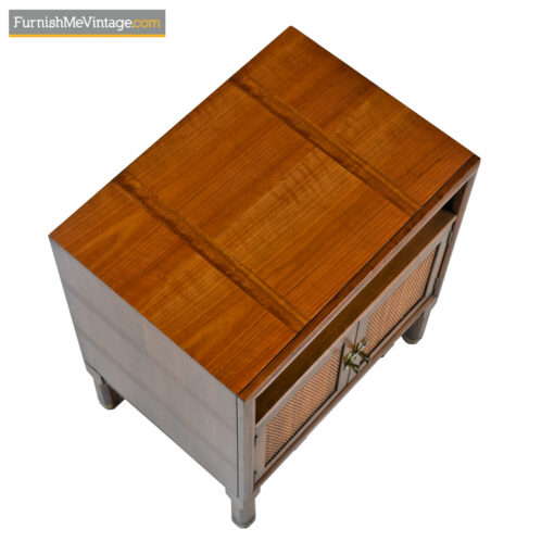Thomasville Talisman Nightstand End Tables - Eastern Campaign Style