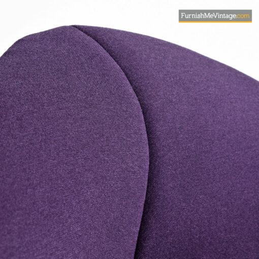 Diamond Chair Harry Bertoia For Knoll - Full Cover Plum Knoll Tweed