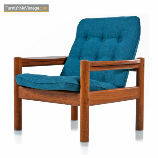 Domino Mobler Arm Chair - Solid Teak Scandinavian Modern
