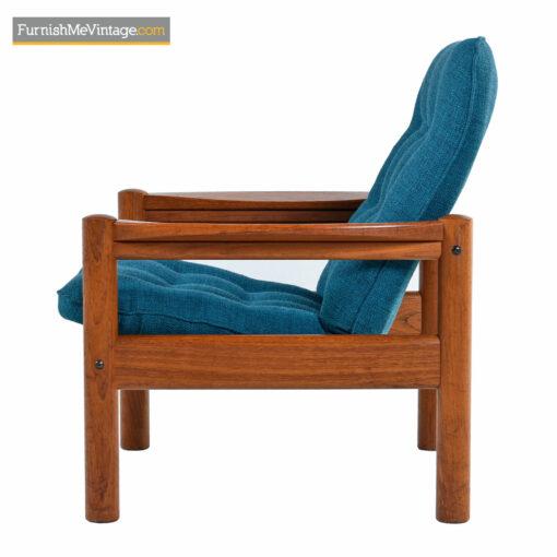 Domino Mobler Arm Chair - Solid Teak Scandinavian Modern