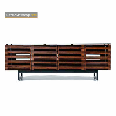 BDI Corridor 8179 Walnut TV Stand Media Cabinet Credenza