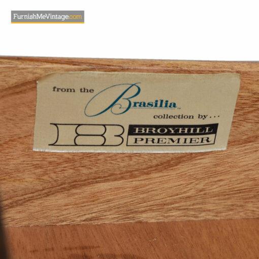 Brasilia Gentlemans Dresser Chest by Oscar Niemeyer For Broyhill