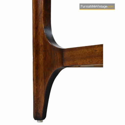 Brasilia Nightstand End Tables in Walnut by Oscar Niemeyer for Broyhill