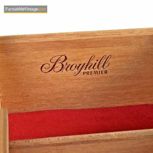 Refinished Mid Century Broyhill Brasilia Triple Dresser
