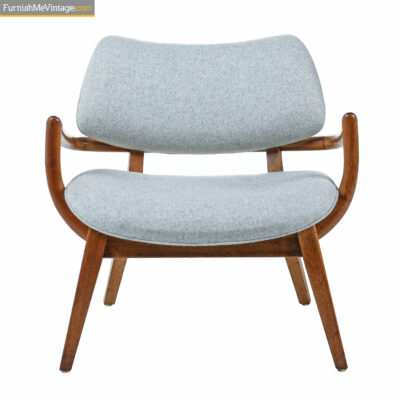 Paul Laszlo for Brown Saltman Mahogany Armchair - Asian Modern