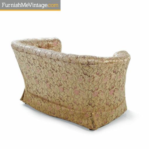 beige pink antique sofa
