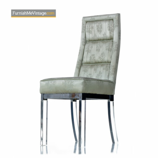 charles hollis jones lucite chairs