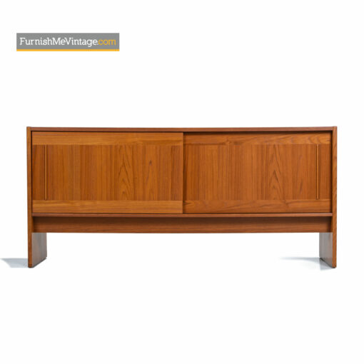 Gangso Moblerdanish teak credenza with tile top