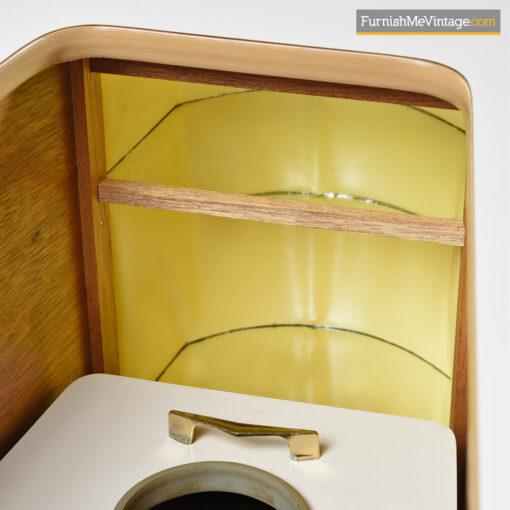 Grand Server Retro Amorphic Convertible Bar Cabinet
