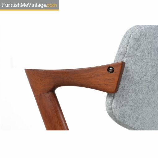 Kai Kristiansen #49 Danish teak chair