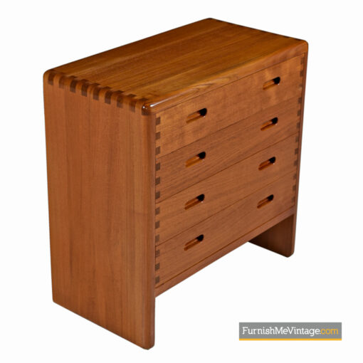 niels bach teak chest drawers