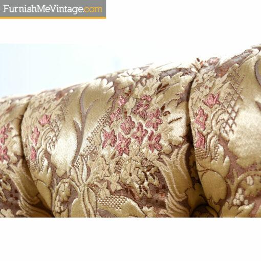 rose flower pink beige sofa