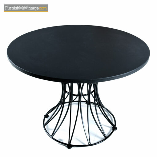 russell woodard hourglass dining table