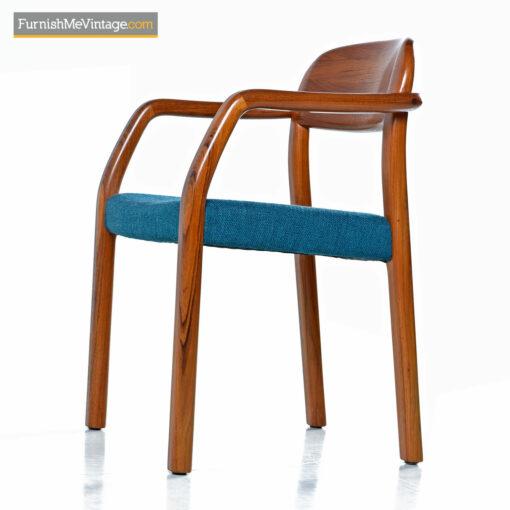 Danish Modern teak armchair