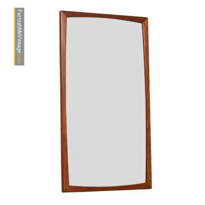 vintage kjersgaard danish teak mirror