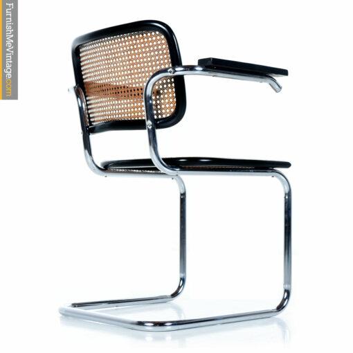 Black Marcel Breuer chair