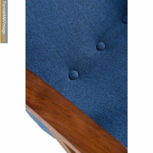 blue knoll upholstery fabric