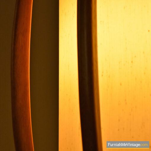 danish modern modeline table lamp