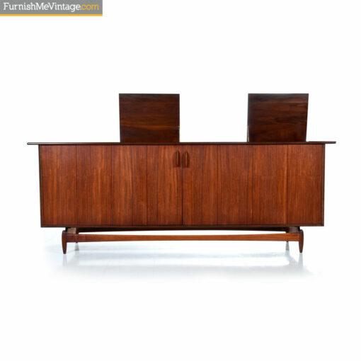 danish teak stereo cabinet