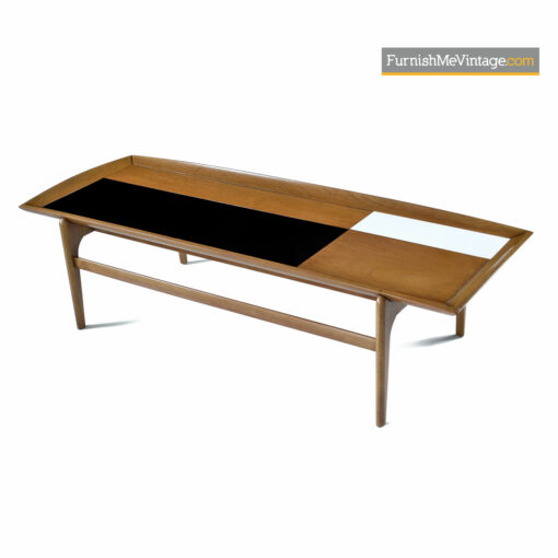 Black and white top mid-century modern coffee table