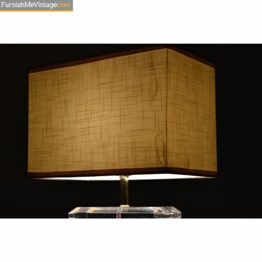 retro lamp shade