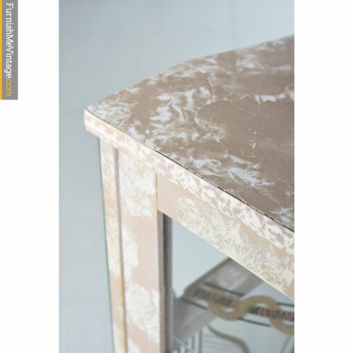 retro marble formica